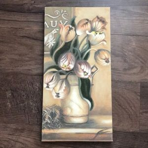 Other - Canvas Floral Wall Pic